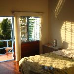 Room in the morning sun