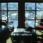Floor to ceiling windows for an amazing view