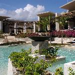 Pool near lobby