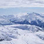 Whistler Mountain peak view