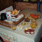 el suculento desayuno