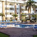 Une des quatre piscines