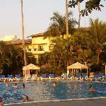 Une autres piscine de l'hôtel