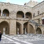 Interior Court Yard