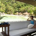 Our resort cottage at Elnido Lagen island