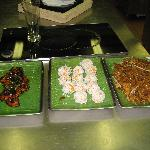 A few of the dishes we prepared