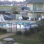 Alexandria, La. Motel 6 swimming. Taken from upstairs.