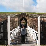 Fort George - Outer Drawbridge