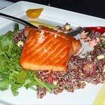 Moist, tender salmon