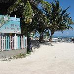 Trends Beachfront Hotel Sign
