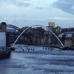 bridge & sage in the distance