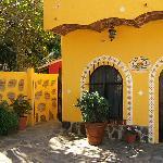 Villa Celeste from the roadside