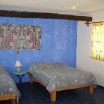 The Blue room at Amar Inn