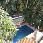 pool from upper deck