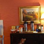 Brickhouse Inn Columbia, NC Coffe Desk