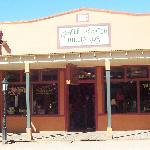 Saloon where Morgan Earp was murdered