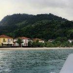 Vista de la playa del Hotel Portogalo - ANGRA DOS REIS