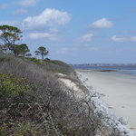 The Beach at Jekyll Island (St. Simmons is in the distance)