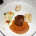 Filet migon au restaurant Francais