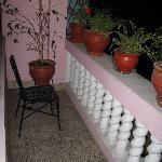 Garden Room balcony