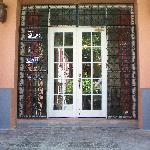 Front doors of the Company House
