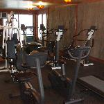 clubhouse exercise room 100 feet from house