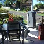 great outdoor dining, with BBQ