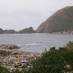 Ocumare harbor and ridge to Cata from the hammocks