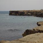 Le scalette nel mare
