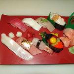 My Omakase sushi dinner