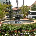 The Fountain Right outside the Lobby