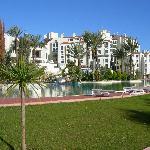 Hotel across the Main Pool