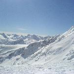 Stunning views from the top slopes