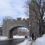 One of the gates into Old Quebec