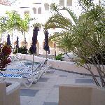 View from veranda area