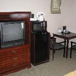 Inside our room at Comfort Inn