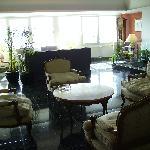 Une partie du hall de réception