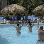 Entertainers Rafy & Joe - Water Aerobics