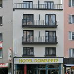 Outside view of Hotel Domspatz, Cologne