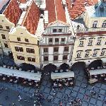l'hotel visto dalla torre dell'orologio