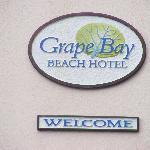 Grape Bay Sign