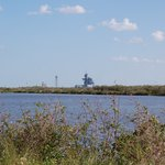 Launch Complex from Merritt Island Wildlife Refuge