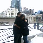 us on the roof top<3