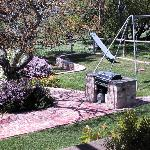 BBQ area - great for kids