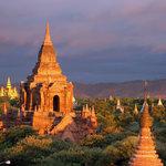 Sunrise over Bagan