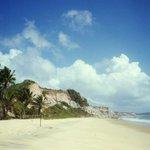 Acantilados sobre la playas - TRANCOSO (BRASIL)