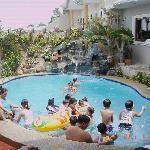 fun time in the pool