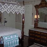 Princess Room with Victorian antiques