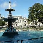 Christ's College on Walk into Christchurch from Ashleigh Court