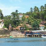 Una vista de la llegada al Morro